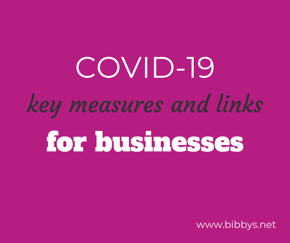 COVID-19 Key Measures and Links for Businesses